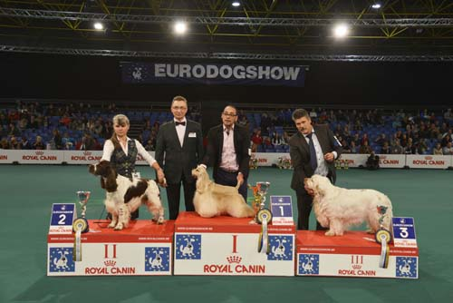 FCI group VIII - Winners of the Eurodogshow Kortrijk (Belgium), 14 - 15 November 2015 (CACIB BIS)